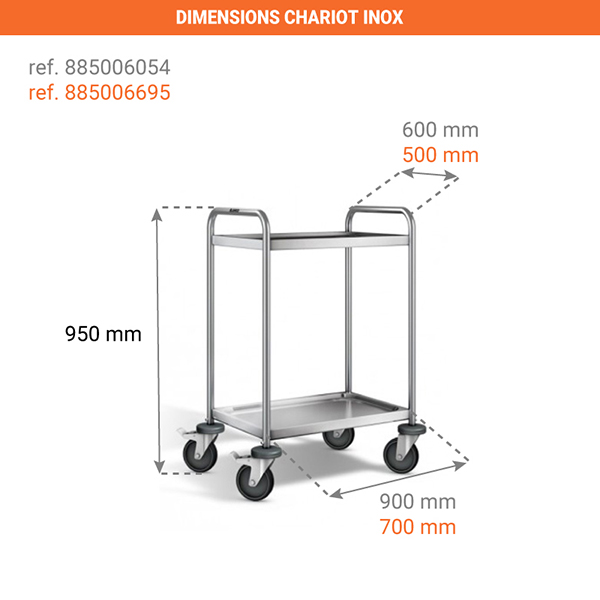 dimensions chariot 885006695