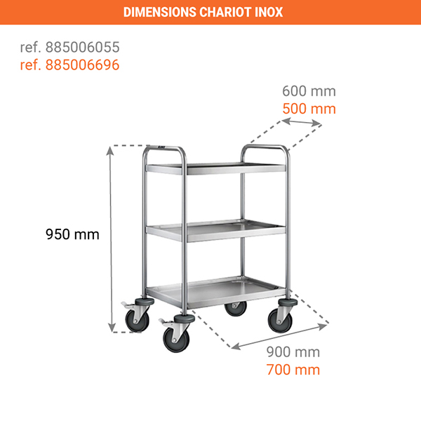 dimensions chariot 885006696