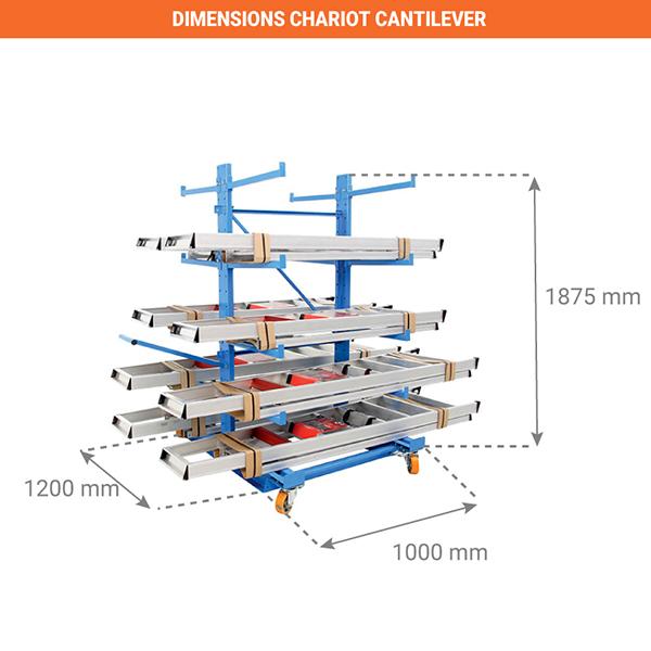 dimensions chariot AFZ1710603NCDF002