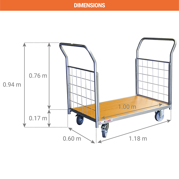 dimensions chariot manutentiion 800009611