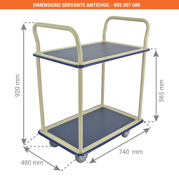 dimensions servante antichoc 885007680