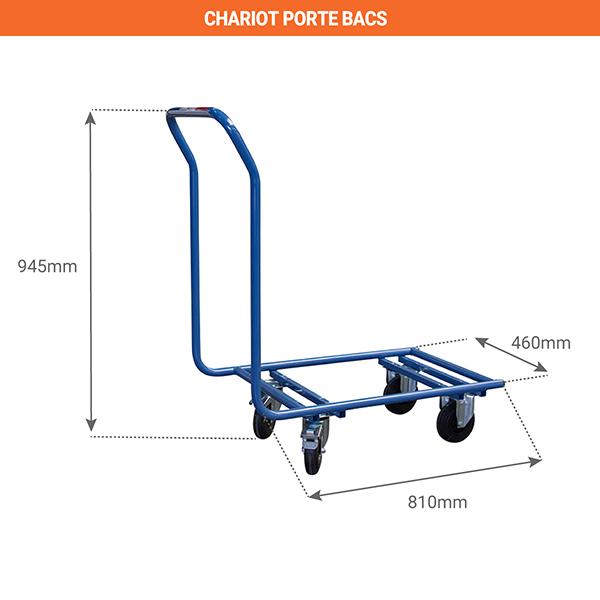 schema chariot porte bacs 800006449