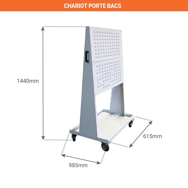 schema chariot porte bacs 805007200
