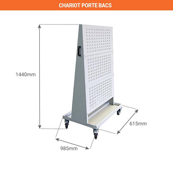 schema chariot porte bacs 805007201