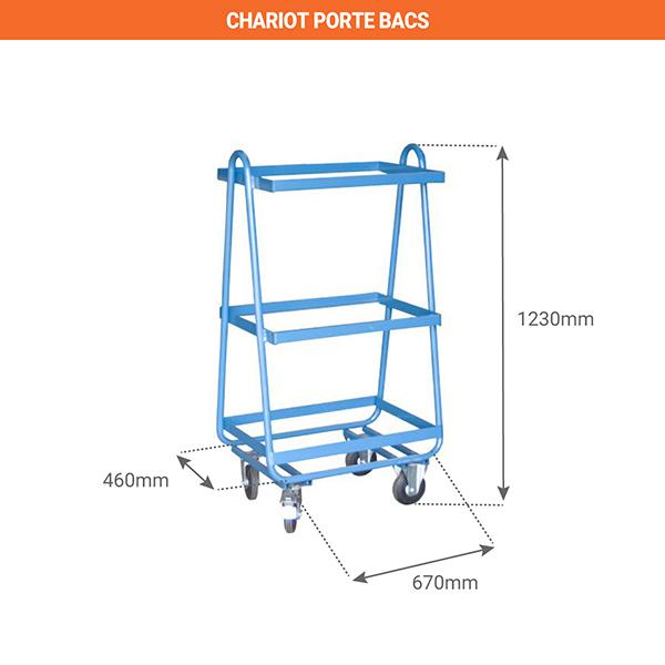 schema chariot porte bacs 880006438