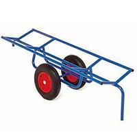 Chariot charge longue et cylindrique