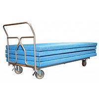 Chariot pour tapis de gymnastique
