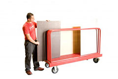 Rack à panneaux mobile 1000kg