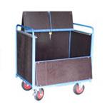 Chariot conteneur avec ou sans toit
