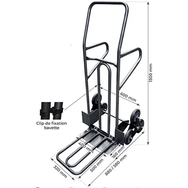 diable alupolyvalent dimensions 250 kg