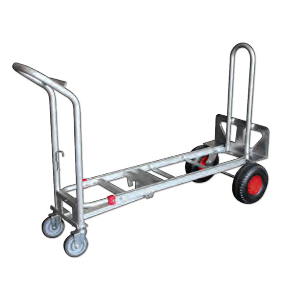 Diable chariot 3 en 1 position horizontale