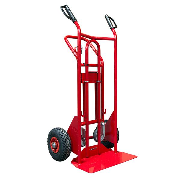 diable chariot acier