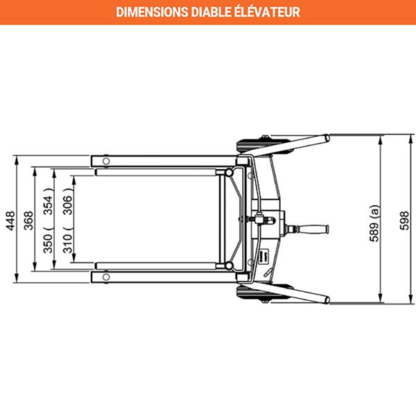 dimensions diable elevateur 2