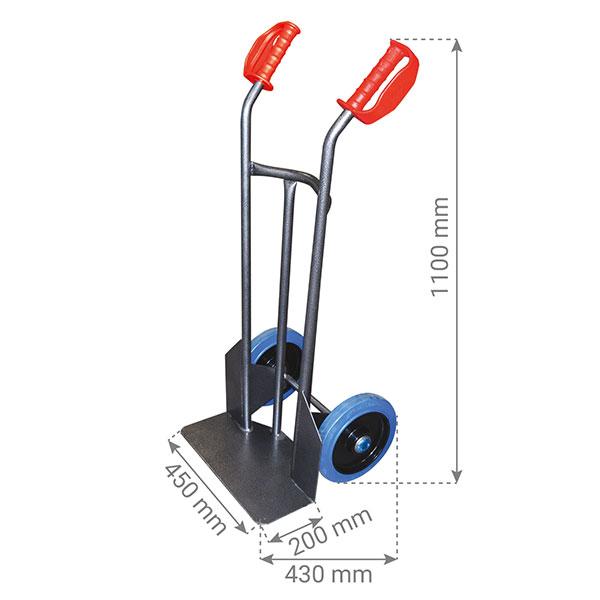 dimensions diable standard acier HT250 NLC