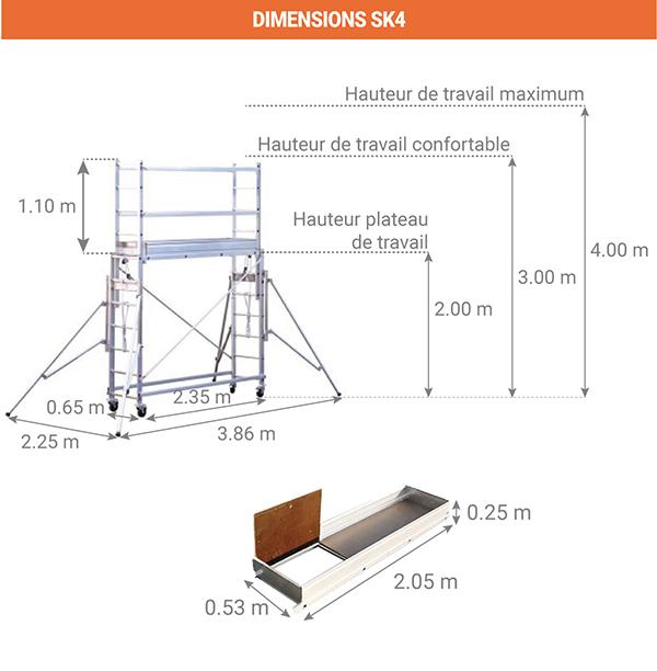 dimensions sk4
