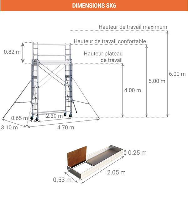 dimensions sk6