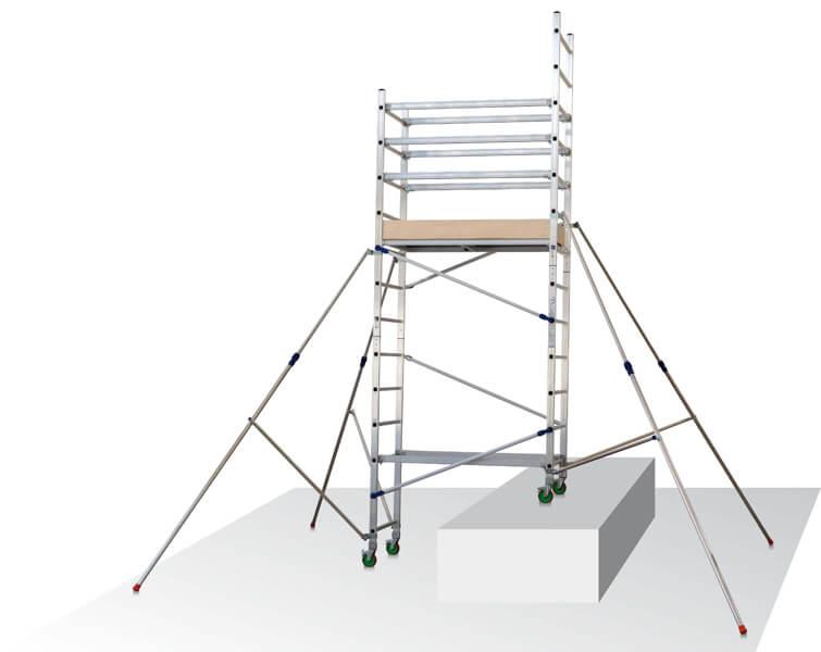 Utilisation possible dans des escaliers
