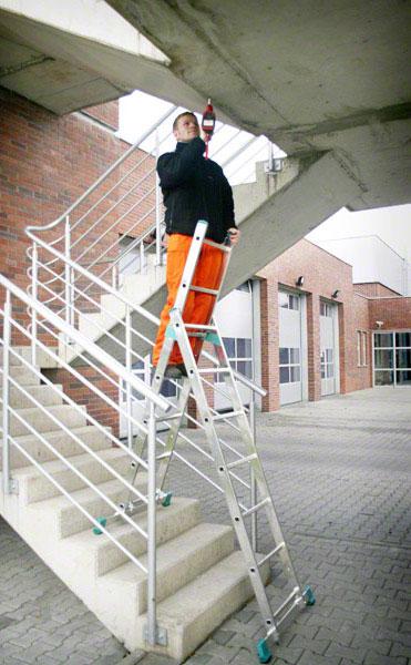 echafaudage 8507 echelle escalier