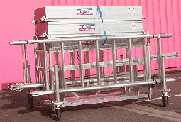 echafaudage base chariot