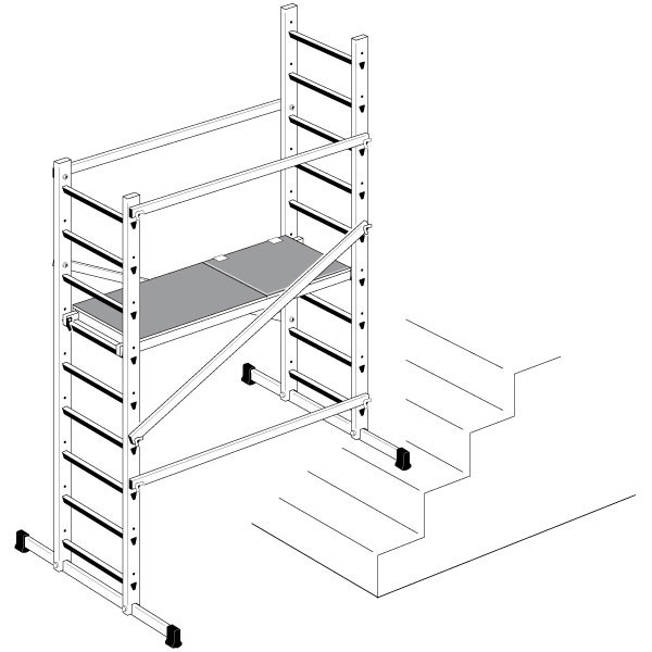 echafaudage domestique escaliers