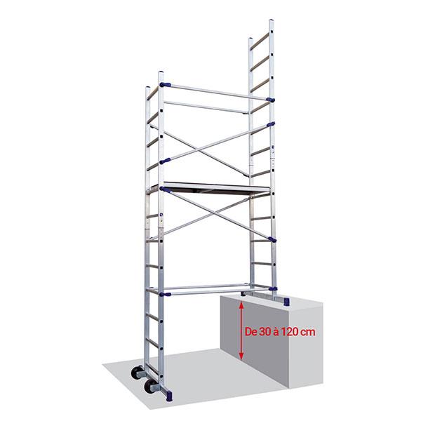echafaudage escalier PNCLI