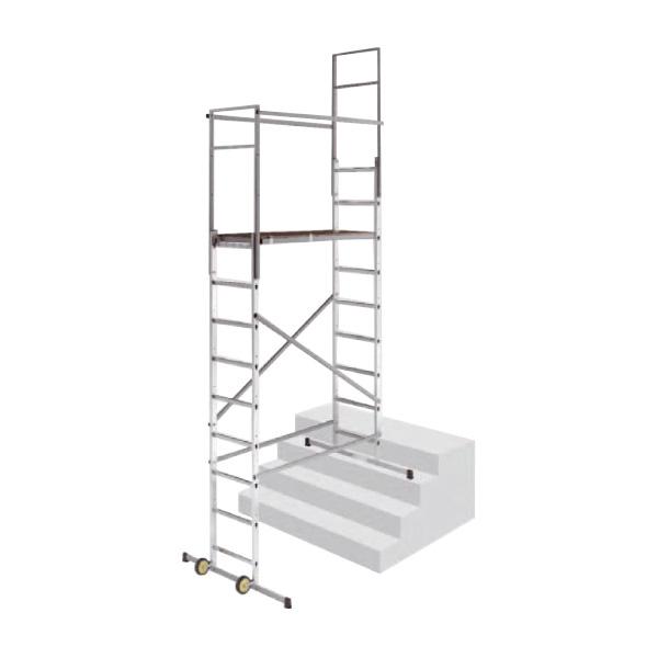 echafaudage escalier situation