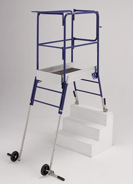 echafaudage helis escalier