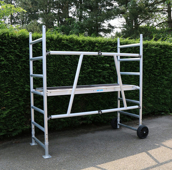 echafaudage jardin aluminium ts 185