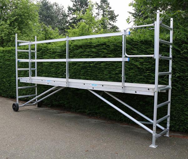 echafaudage jardin aluminium ts 420
