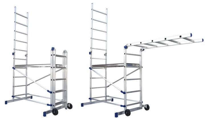 Echafaudage pour escalier modulable - Escalier direct usine ...