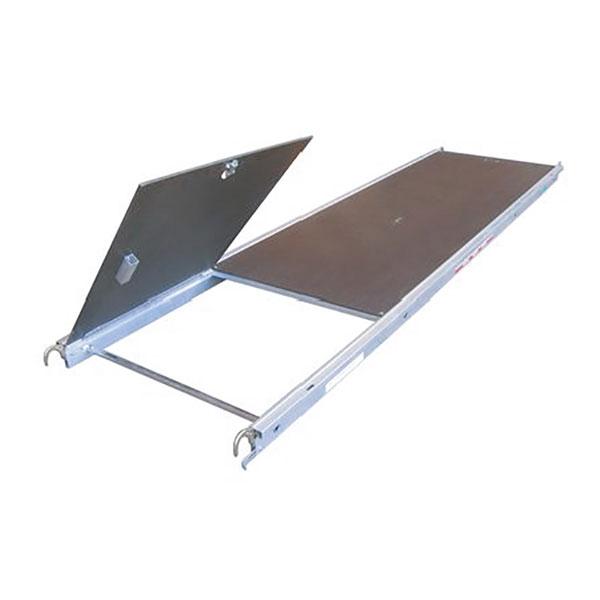 plancher alu bois trappe