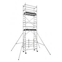 Echafaudage SPEEDY - Modèle haut. plancher 4.66m