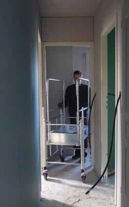 Passage de portes aisé