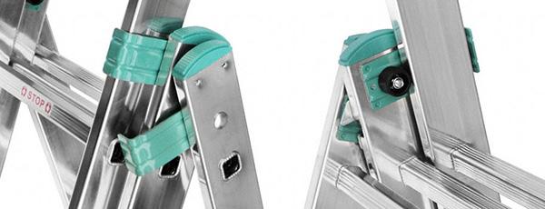 articulation echelle aluminium