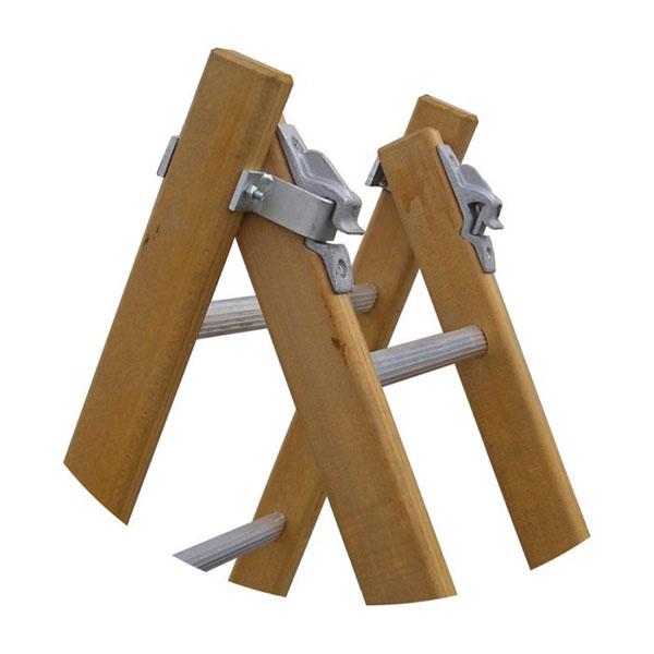 articulation echelle bois double MT