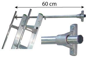 barre accrochage echelle 60cm