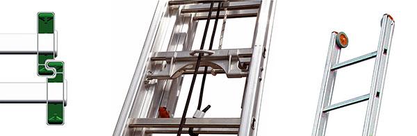 details echelle coulissante R2 R3