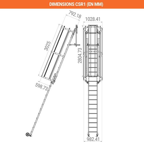 dimensions crinoline csr1