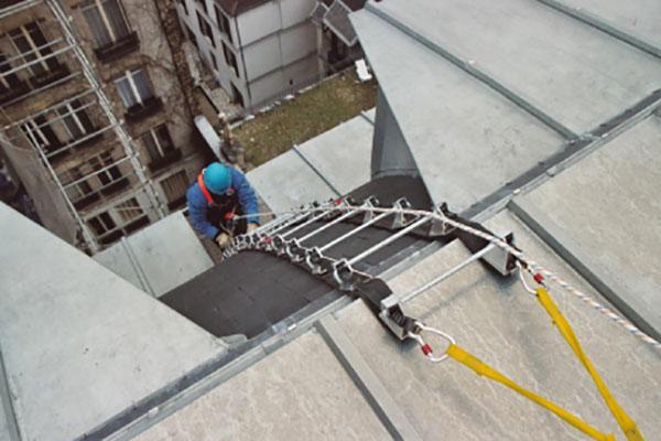Echelle de toit Sécurechelle double - Mise en situation