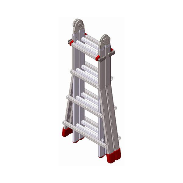 échelle pour escaliers pliée