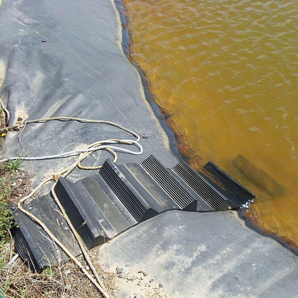 echelle souple pour bassin