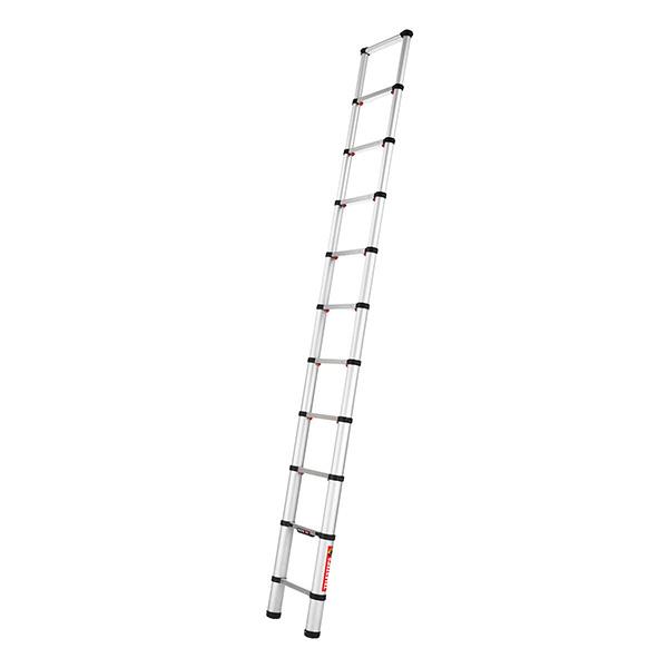 Echelle télescopique aluminium 3.20m entièrement déployée