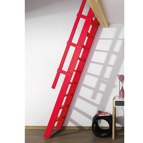 escalier rabattable rouge msp