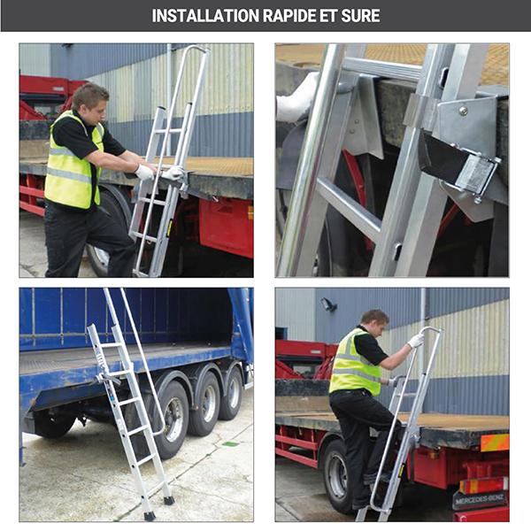 installation echelle acces camion 5701