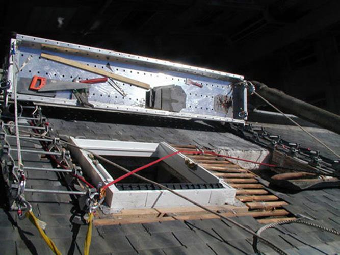 echelles de toit