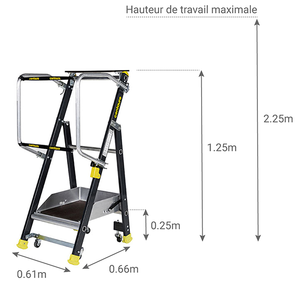 schema escabeau STEPPER 414901
