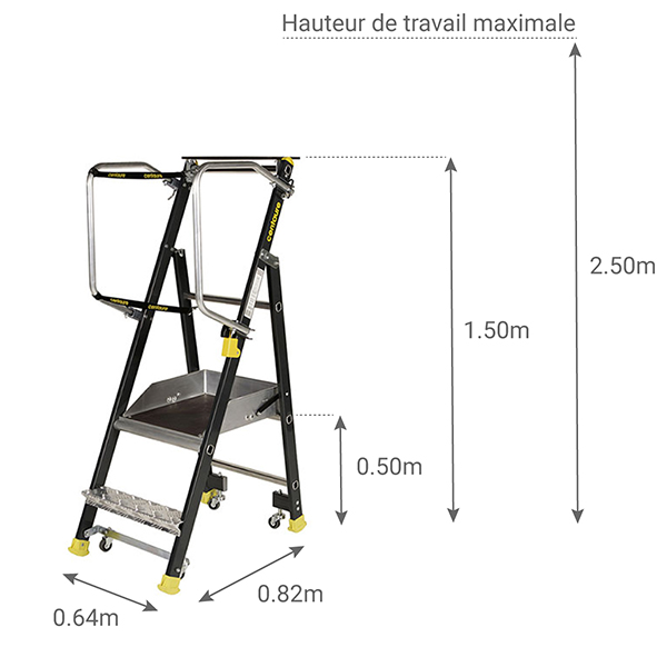 schema escabeau STEPPER 414912