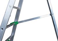 barre de sécurité de l'échelle