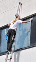 echelle laveur de vitre
