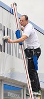 échelle laveur de vitre
